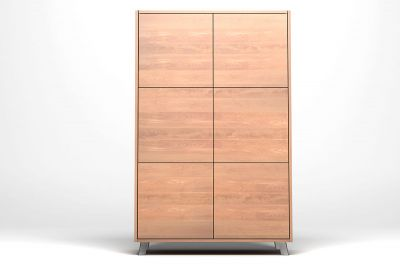 Massivholz Highboard nach Maß Buche massiv