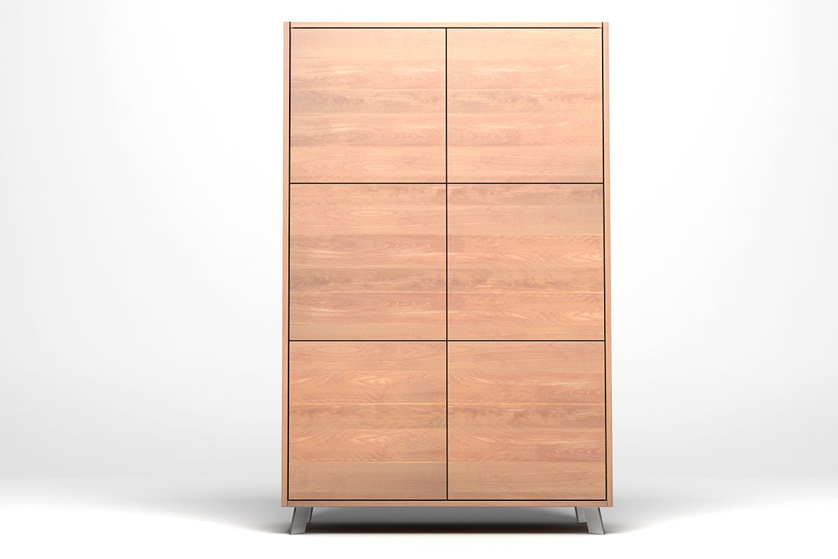 Massivholz Highboard Nach Mass Buche Holzpiloten