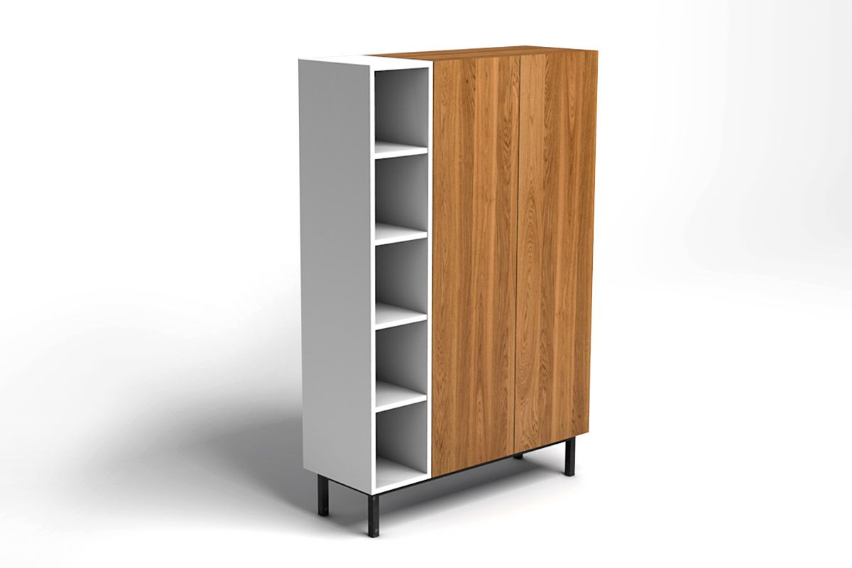 eiche highboard massiv nach ma holzpiloten. Black Bedroom Furniture Sets. Home Design Ideas