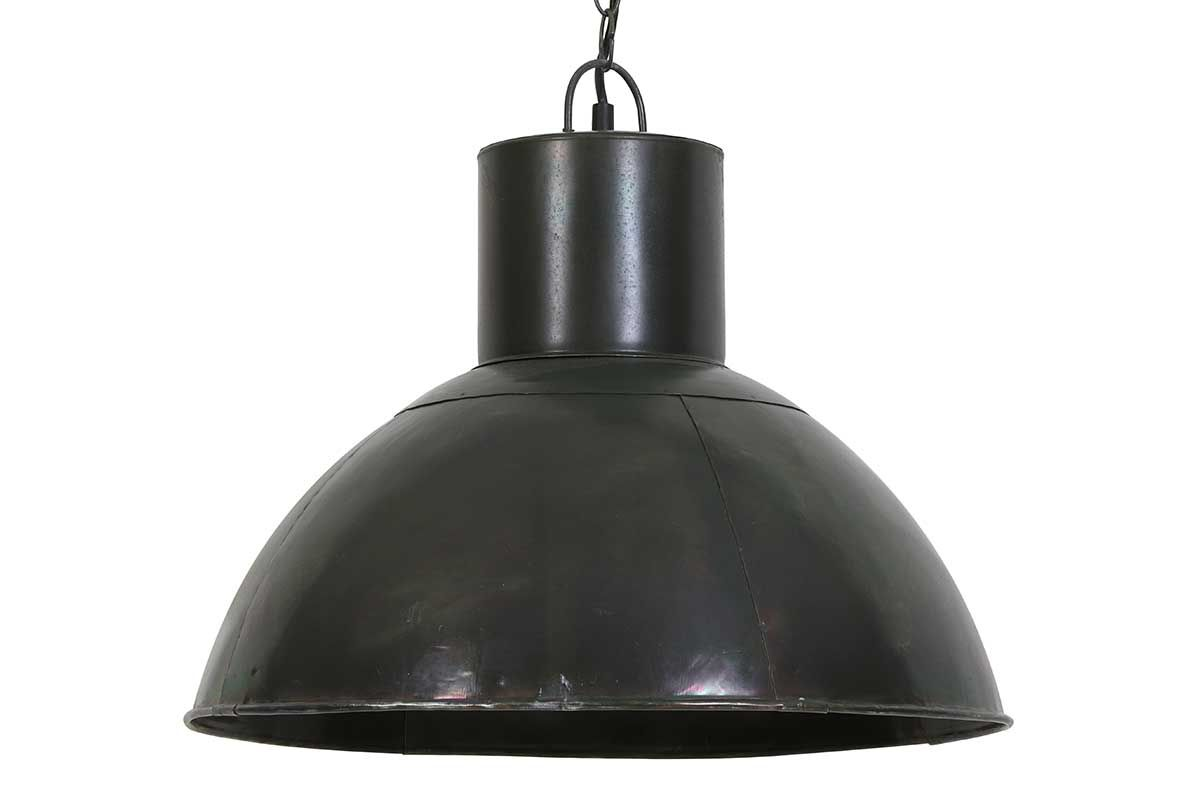 Industrial Lampe Metall Military-Green